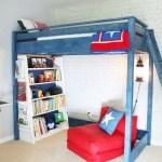 Boy's Red, White & Blue Themed Room   Pretty Handy Girl