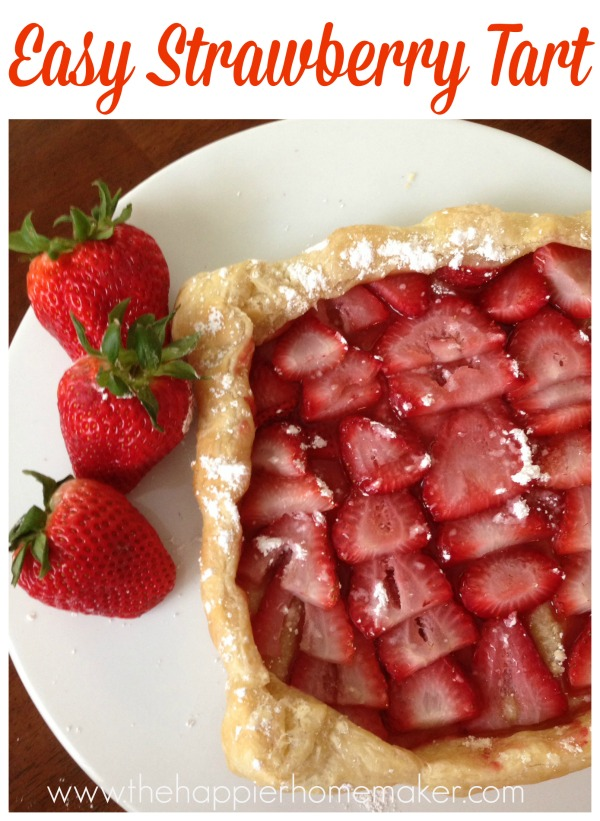 Gifts from your Kitchen - Easy Strawberry Tart