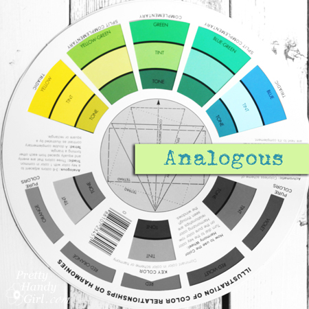 Analogous color harmony | Pretty Handy Girl