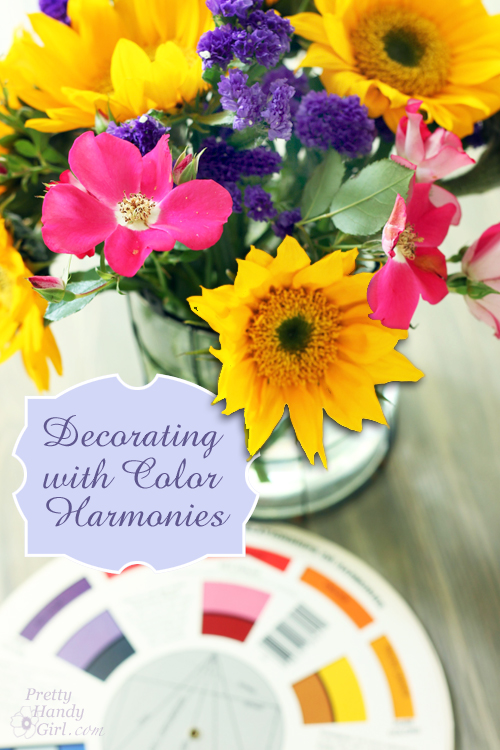 Decorating with Color Harmonies | Pretty Handy Girl