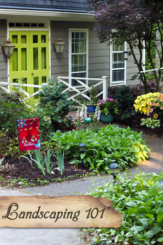 Landscaping 101: Tools, Planting, and Adding Color to your Landscaping | Pretty Handy Girl