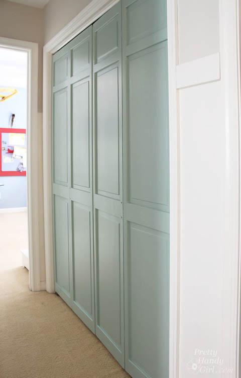 Beau How To Trim Closet Doors With Dremel UltraSaw | Pretty Handy Girl