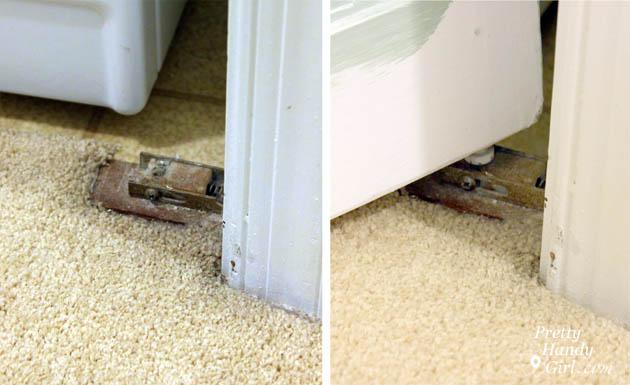 How to Trim Closet Doors with Dremel UltraSaw | Pretty Handy Girl