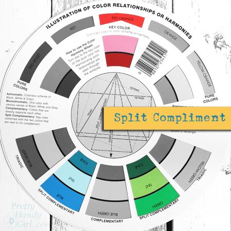 Split Compliment Color Palette | Pretty Handy Girl