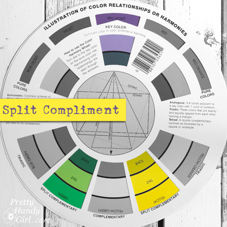 Split Compliment Color Palette | Pretty Handy Girl