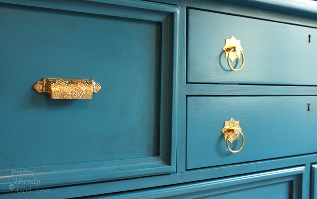 Facelift for a Knotty Pine Dresser   Pretty Handy Girl