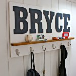 DIY Personalized Wall Shelf