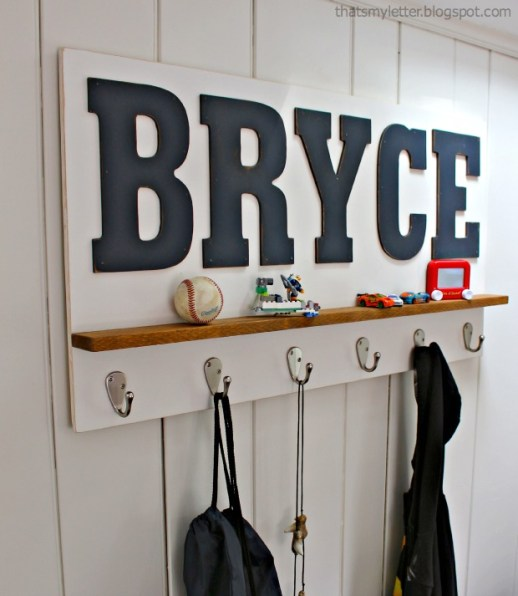 personalized wall shelf 1