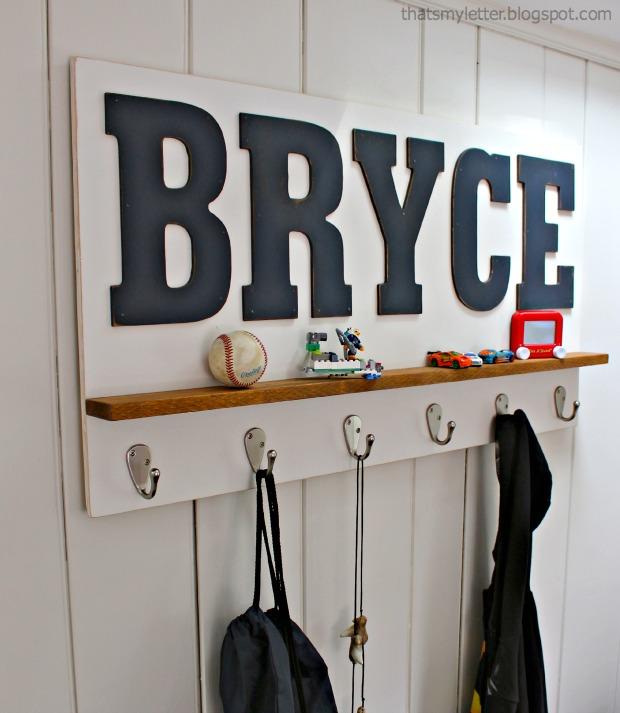 Personalized wall shelf