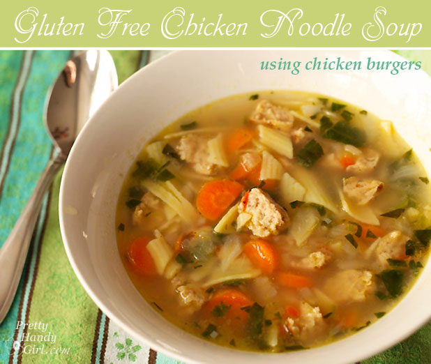 Gluten Free Chicken Noodle Soup | Pretty Handy Girl
