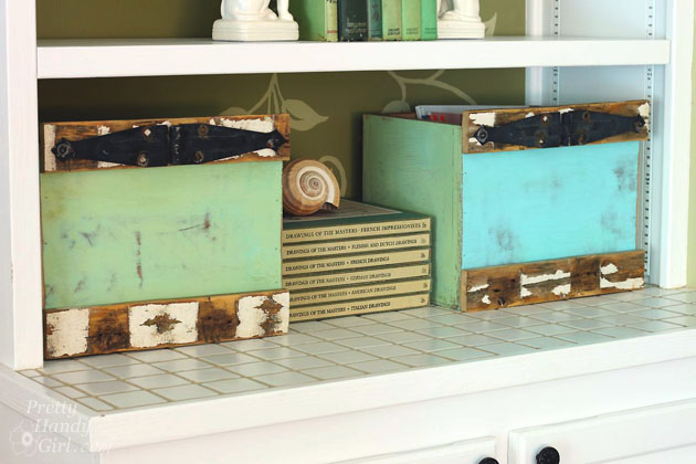 Rustic Box Crates