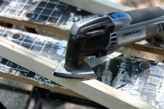 Dremel Multi-max sanding tool