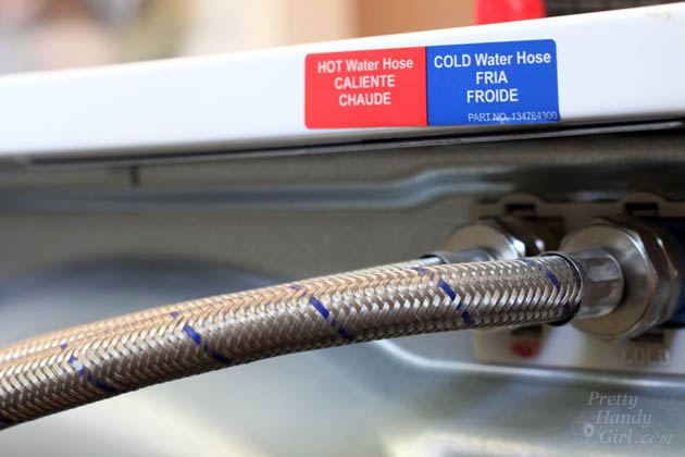 Replace Water Lines with Braided Metal Hoses | Pretty Handy Girl & Replace Water Lines with Braided Metal Hoses