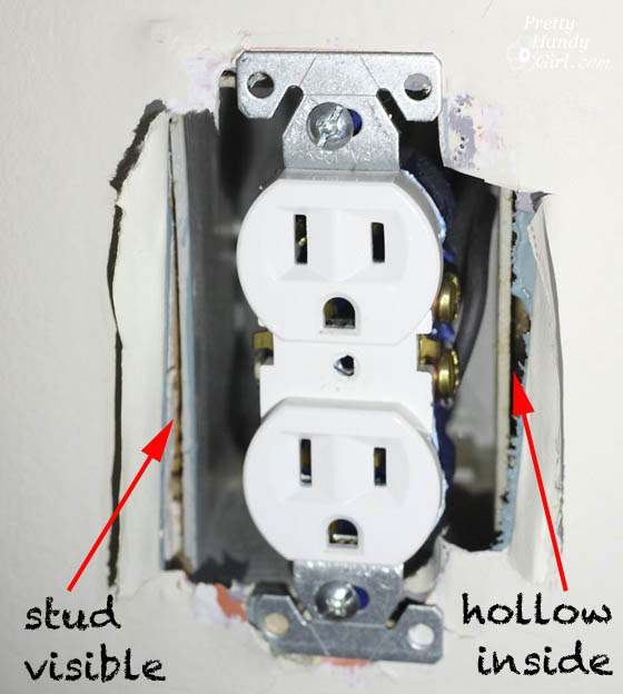 stud-visible-from-outlet-box