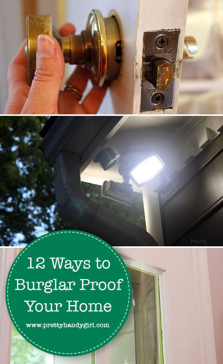 how to burglar proof your home