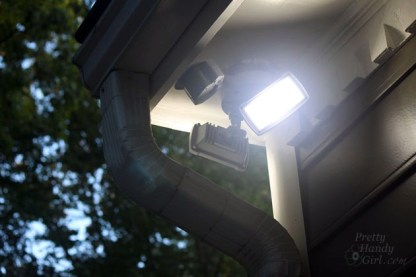 How to Install an Exterior Security Light | Pretty Handy Girl