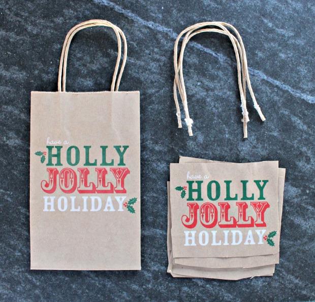 paper bag ornament step 1
