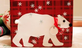 Polar Bear Gift Wrap