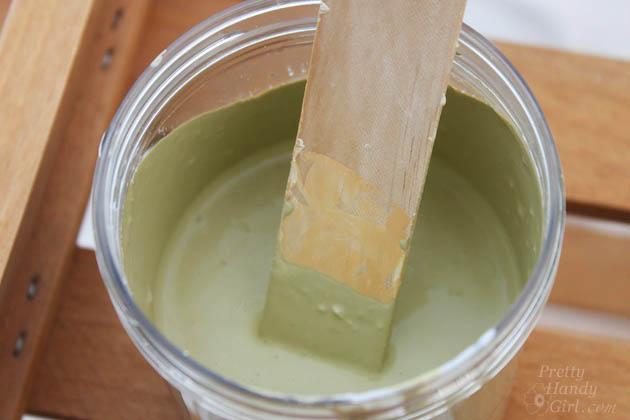 Quick Kitchen Cart Makeover with BB Frösh Chalk Paint Powder