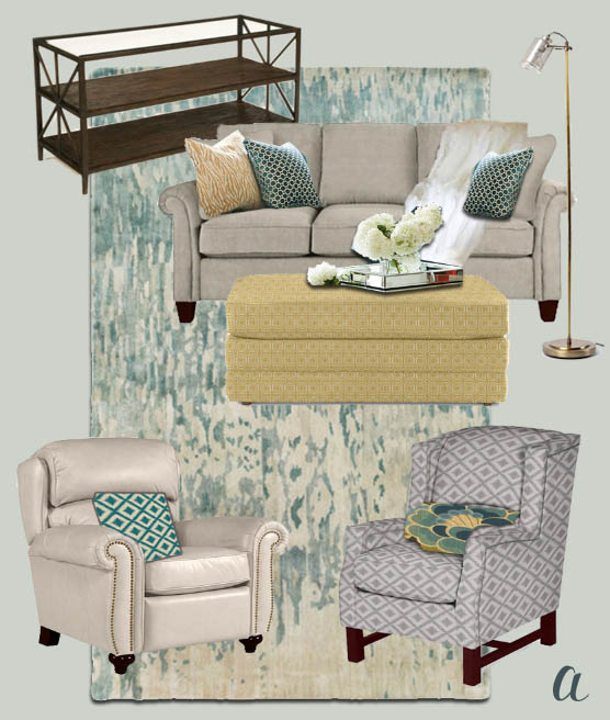 La-Z-Boy Living Room Decisions | Pretty Handy Girl