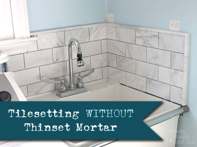 Beau Tile Setting Withouto Thinset Mortar
