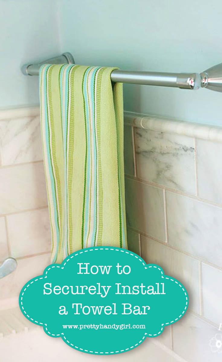 Install a Towel Bar Securely