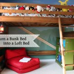 How to Turn a Bunk Bed into a Loft Bed | Pretty Handy Girl