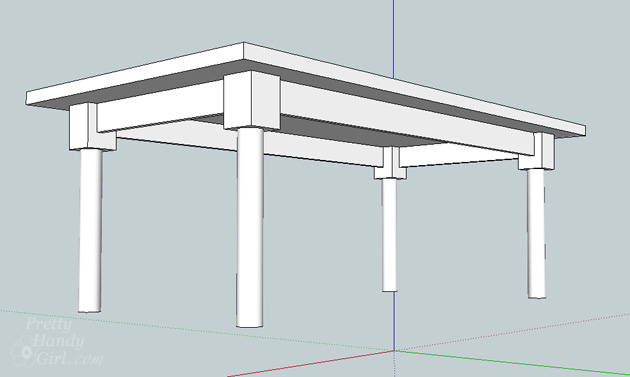 How to Build a Table   Pretty Handy Girl