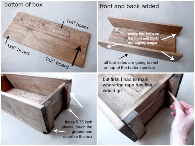 assemble wood ammo box