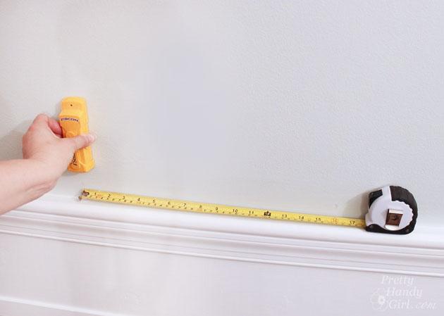 Installing a Wall Mount Flat Screen TV + Hiding Cords | PrettyHandyGirl