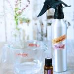 materials for sunburn relief spray