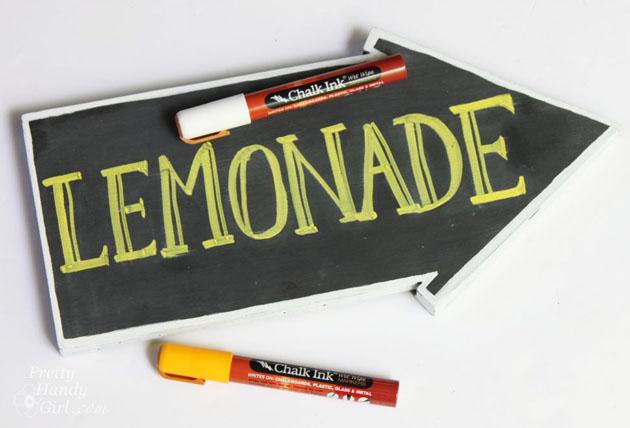 Double Sided Arrow Chalkboards w/Stake 21in  |Chalkboard Arrow Sign Plant