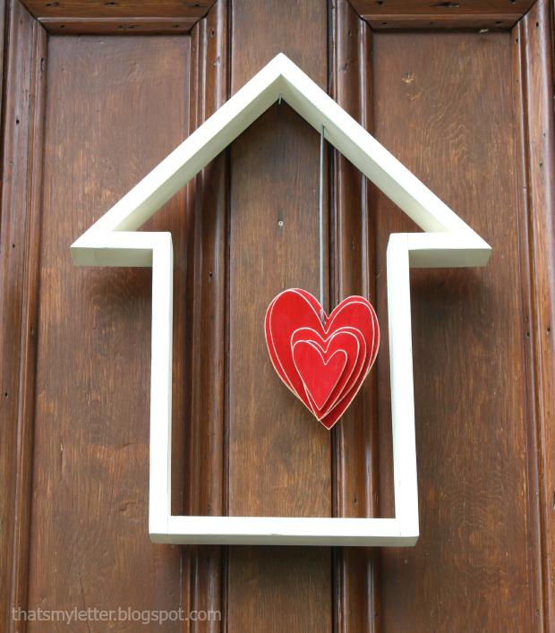 house shape door decor 1