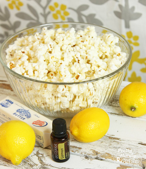 Lemon Zest Popcorn {Gift Idea} | Pretty Handy Girl