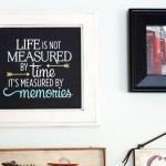 Upcycled Cabinet Door Quote Art   Pretty Handy Girl