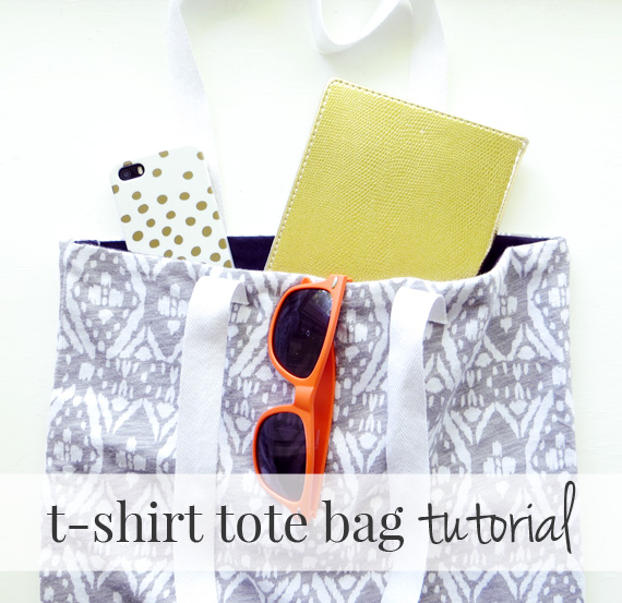 tote bag from tee shirt