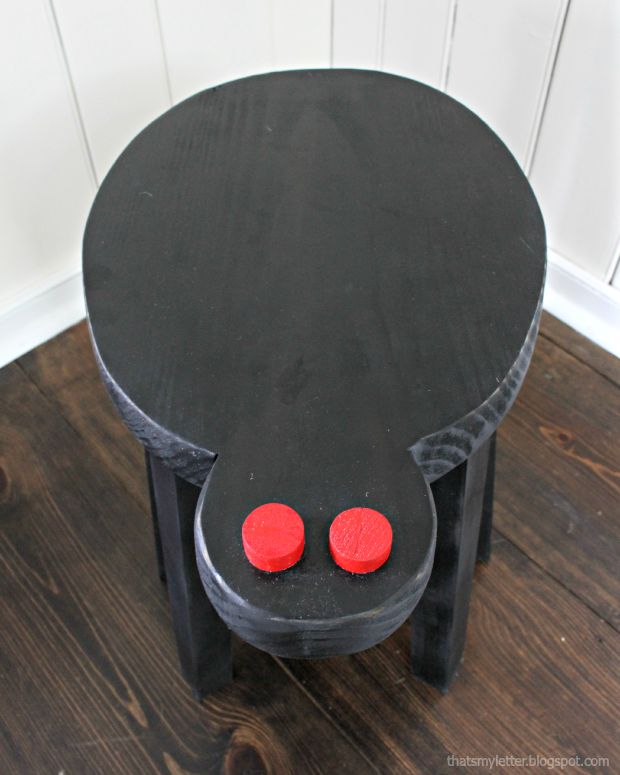 spider stool top