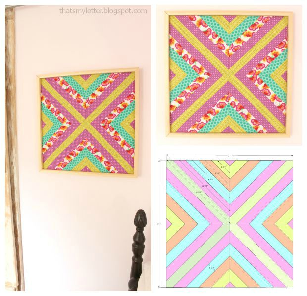 wall quilt collage