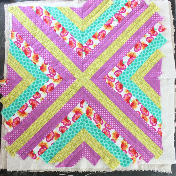wall quilt step 7