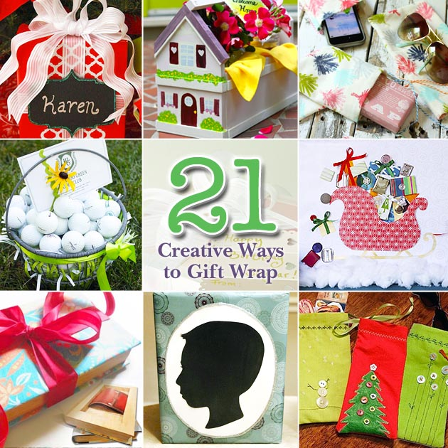 21 Creative Ways to Gift Wrap | Pretty Handy Girl