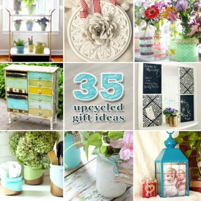 35 upcycled gift ideas
