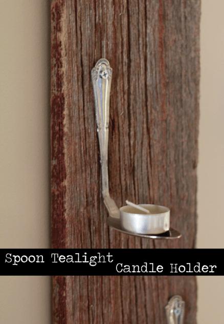 Spoon Tealight Candleholder