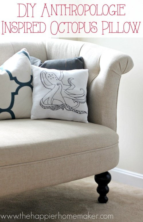 DIY Anthropologie Inspired Pillow