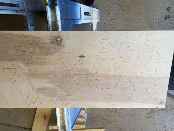 snowflake trivet step 2