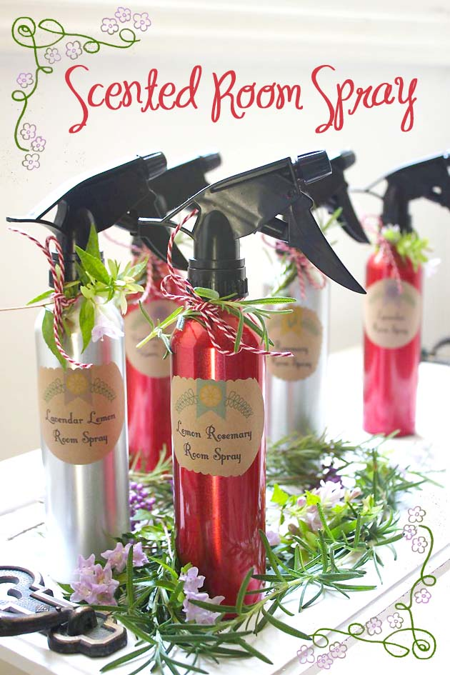 Scented Room Spray Recipe