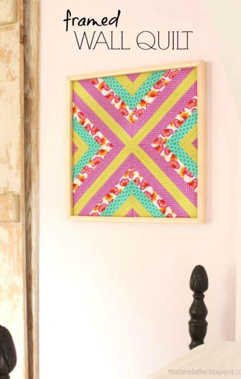 Framed Wall Quilt