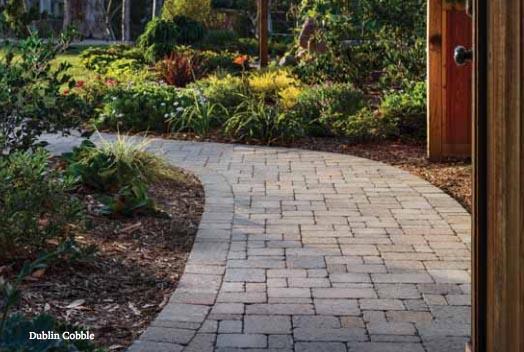 Belgard Dublin Cobble - Backyard Landscaping Plans | Pretty Handy Girl
