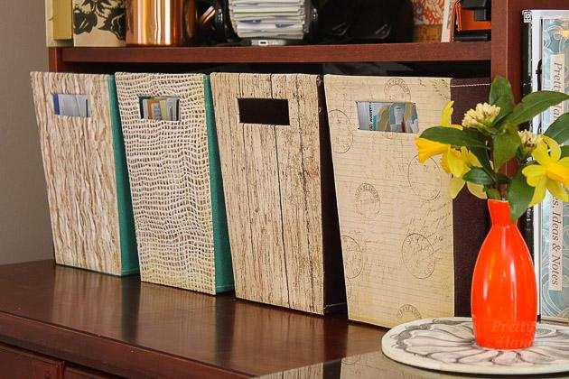 Magazine File Box Facelift