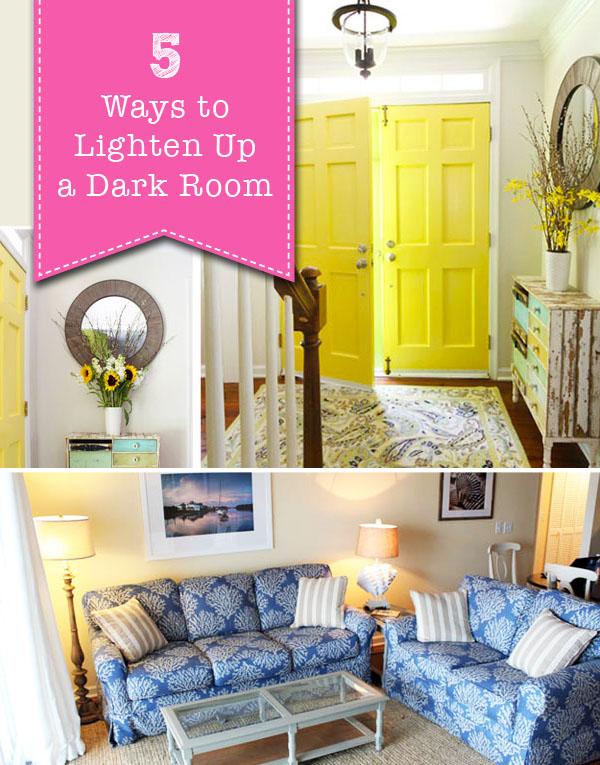 5 Ways to Lighten Up a Dark Room | Pretty Handy Girl