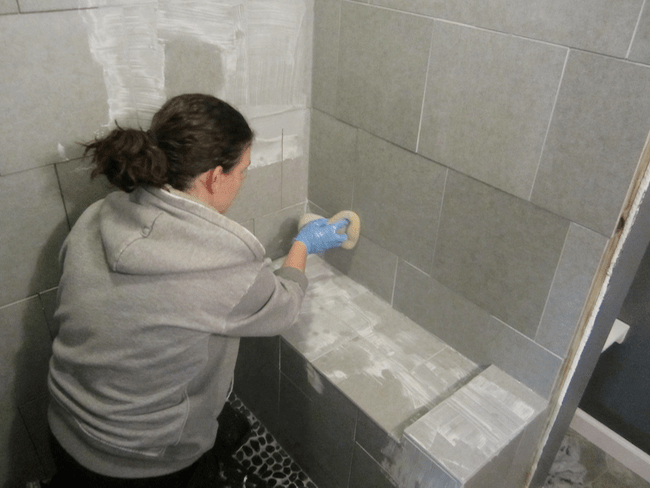 Prime 5 Great Tips To Grout A Shower Pretty Handy Girl Interior Design Ideas Tzicisoteloinfo